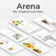 Arena Food Google Slide Template - GraphicRiver Item for Sale