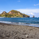 Black volcanic beach on the Vulcano Island - PhotoDune Item for Sale
