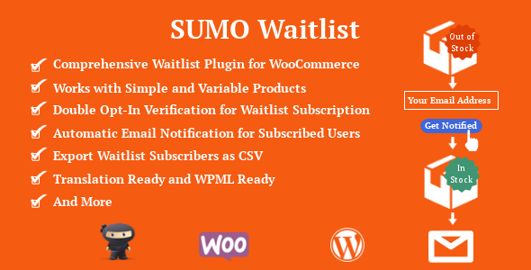 SUMO WooCommerce Waitlist - CodeCanyon Item for Sale