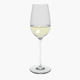Glass Riedel Superleggero Riesling With Wine - 3DOcean Item for Sale