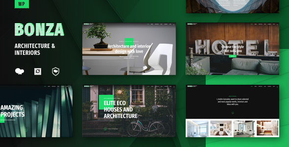Image of Bonza Architecture & Interior WordPress Theme