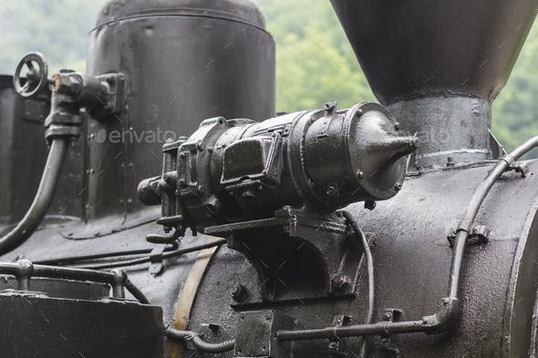Locomotive Part Detail - Stock Photo - Images