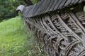 Woven Garden Fence - PhotoDune Item for Sale