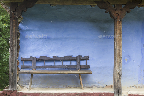 Old Wood Bench - Stock Photo - Images