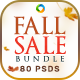 Fall Special Sale Banner Bundle - 5 Sets - Updated!