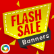 Flash Sale Banner Set - GraphicRiver Item for Sale