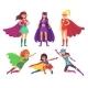 Superheroes Women Characters