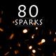 Fire Sparks 80 PACK - VideoHive Item for Sale