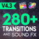 FCPX 280+ Transitions and Sound FX - VideoHive Item for Sale