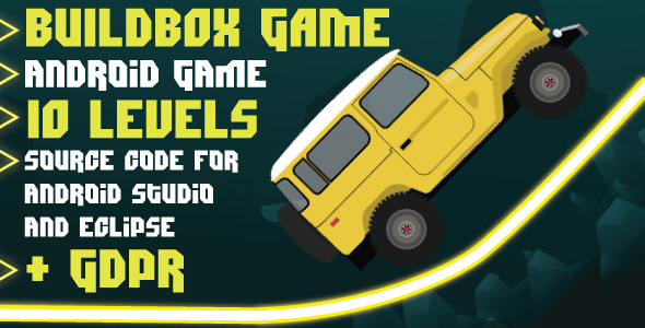 Faster Car with GDPR: Android Game-10 levels-Buildbox game-easy to reskin            Nulled
