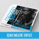 Square Magazine Template - GraphicRiver Item for Sale