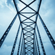 steel bridge, steel structure close-up view - PhotoDune Item for Sale