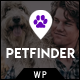 Petfinder - Pet Adoption and Rescue WordPress Theme - ThemeForest Item for Sale