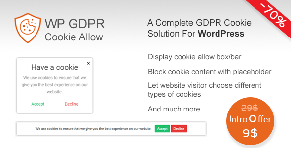 Mega GDPR Compliance toolkit for WordPress - CodeCanyon Item for Sale