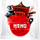 Japanese Menu Template vol.2 - GraphicRiver Item for Sale