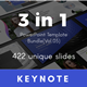 3 in 1 Multipurpose Keynote Template Bundle (Vol.05)
