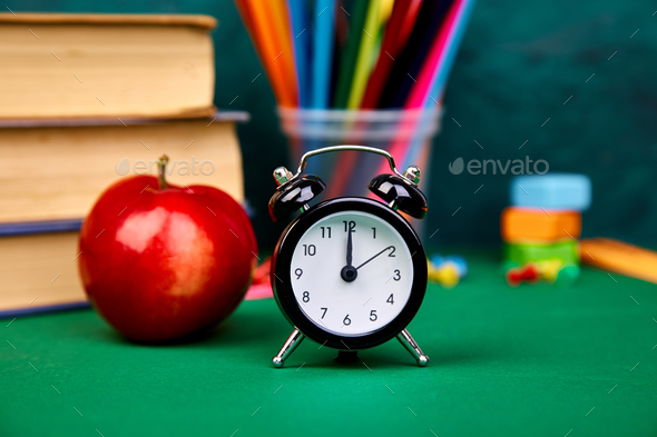 Back to school supplies. - Stock Photo - Images