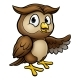Cartoon Owl Character - GraphicRiver Item for Sale