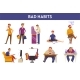 People Bad Habits and Behavior Vector Icons - GraphicRiver Item for Sale