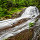Beautiful waterfall in the forest - PhotoDune Item for Sale