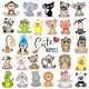 Set of Cartoon Animals - GraphicRiver Item for Sale