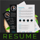 Resumes - GraphicRiver Item for Sale