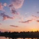 Clouds Over the River After Sunset - VideoHive Item for Sale