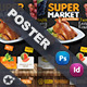 Supermarket Promotion Poster Templates - GraphicRiver Item for Sale