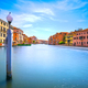 Pole and soft water on Venice lagoon in Grand Canal. Long exposu - PhotoDune Item for Sale