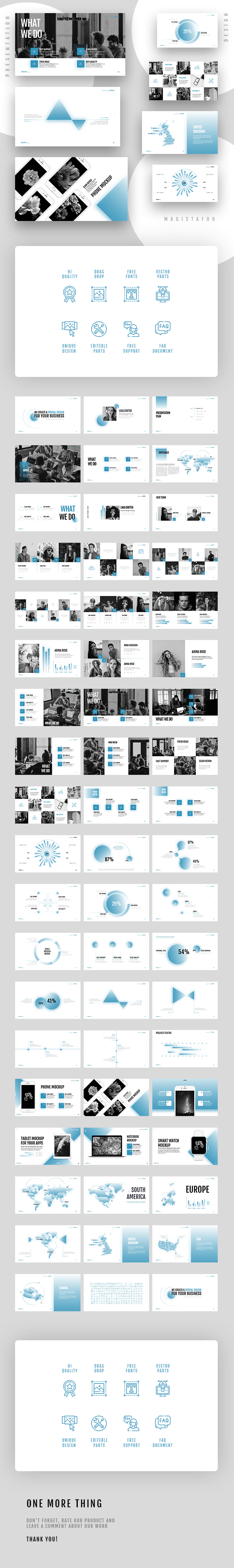 Presentation Template - Startup Corporate - Creative Keynote Templates