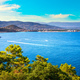 Cannes La Napoule bay view. French Riviera, Azure Coast, Provenc - PhotoDune Item for Sale