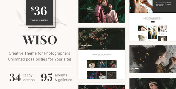 Photography WISO - Photography WordPress for photography