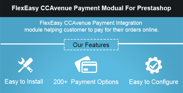 FlexEasy CCAvenue Payment Module for Prestashop - CodeCanyon Item for Sale
