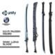 Sci-fi Swords Pack
