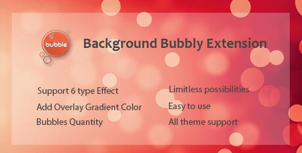 Visual Composer - Background Bubbly Effect (Add-ons)