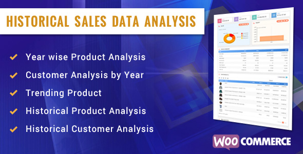 Historical  Sales Analysis (WordPress)