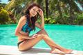 Pretty woman on the beach resort - PhotoDune Item for Sale
