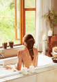 Woman relaxing in the bath - PhotoDune Item for Sale