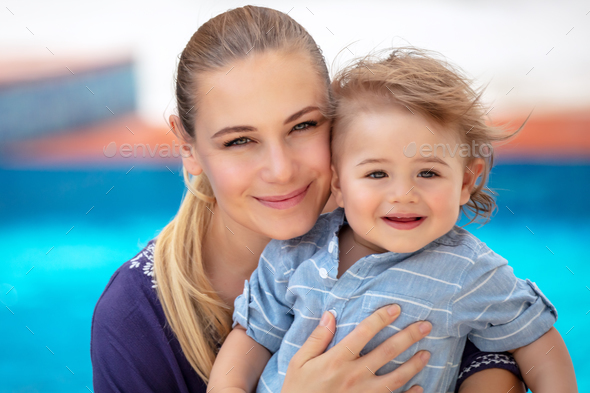 Happy mother with child - Stock Photo - Images