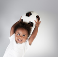 Little boy with soccer ball - PhotoDune Item for Sale