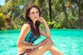 Female near the pool - PhotoDune Item for Sale