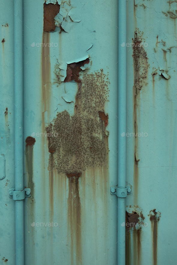 Expired rusty panel - Stock Photo - Images
