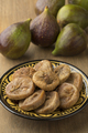 Dish with dried figs and ripe fresh ones - PhotoDune Item for Sale