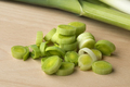 Fresh slices of raw leeks - PhotoDune Item for Sale