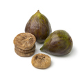 Fresh ripe figs and a heap of dried ones - PhotoDune Item for Sale