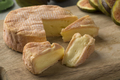 Petit Munster cheese and wedges close up - PhotoDune Item for Sale