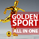 Golden Sport Intro - VideoHive Item for Sale