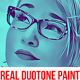 Real Duotone Paint Photoshop Action