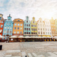 Old colorful tenement buildings located in Gdansk - PhotoDune Item for Sale