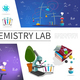 Flat Laboratory Research Elements Set - GraphicRiver Item for Sale